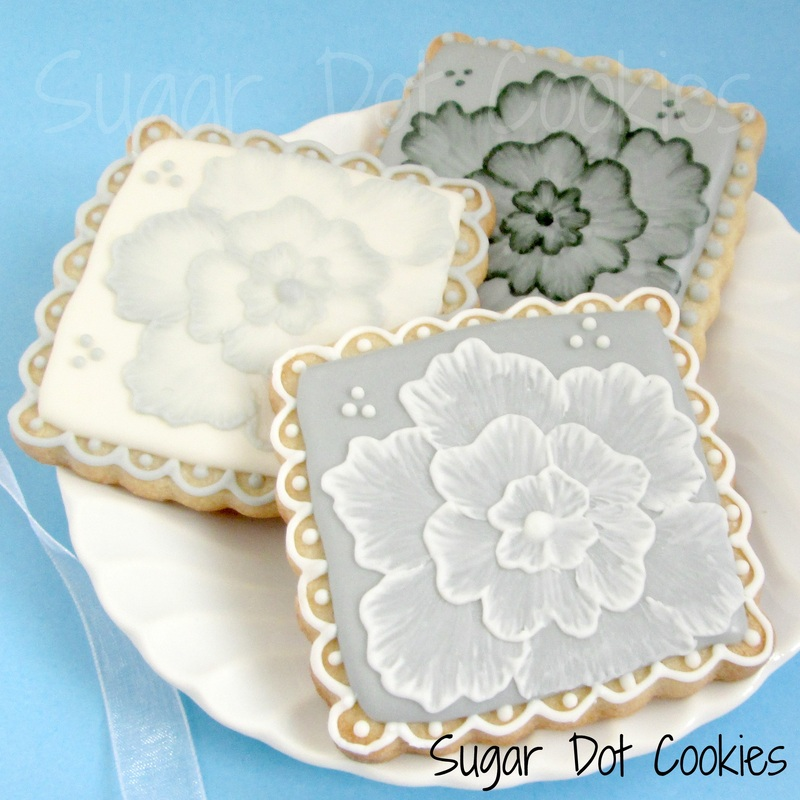 Cake Decorating Painting Icing : Wedding Custom Sugar Cookies, Frederick, MD Maryland ...