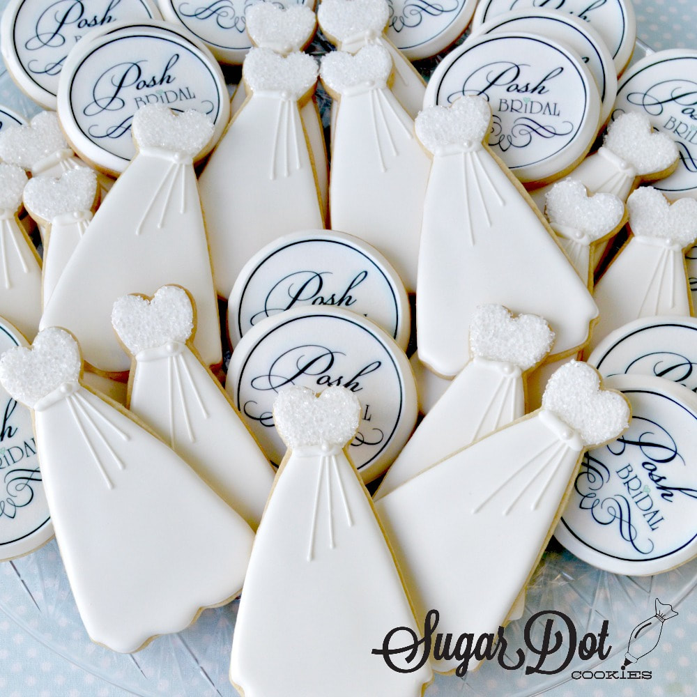 Custom Decorated Sugar Cookies for Corporate Events - Sugar Dot ...