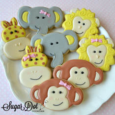 Custom Sugar Cookies decorated with Royal Icing to ...