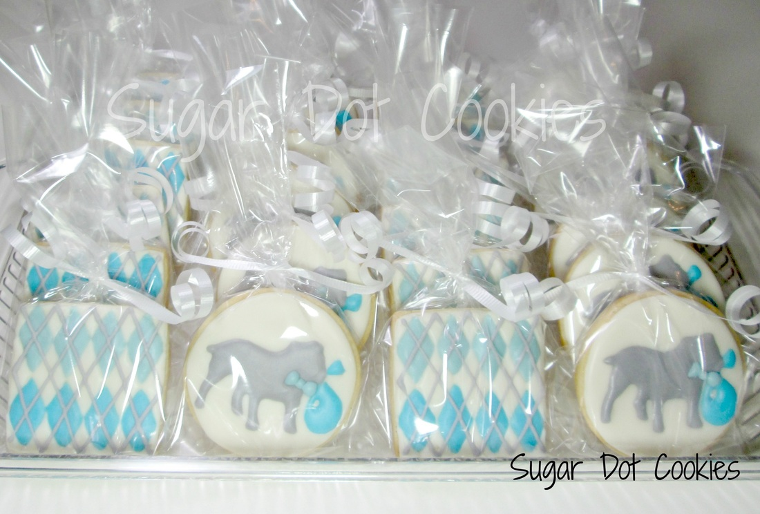 Favors - Sugar Dot Cookies . . . Handmade Decorated Sugar Cookies ...