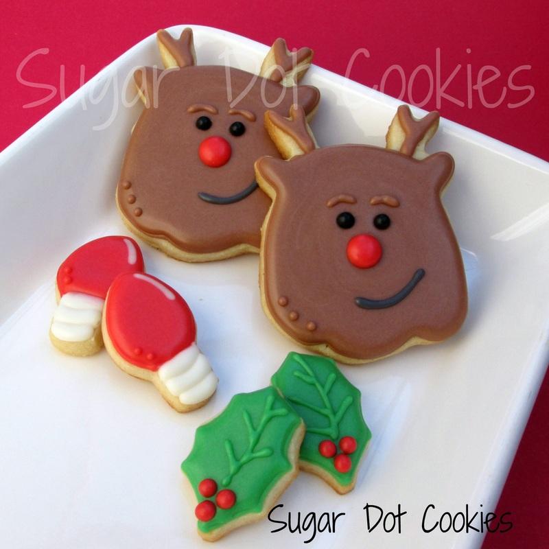 Order Christmas Winter Sugar Cookies Custom Decorated Frederick