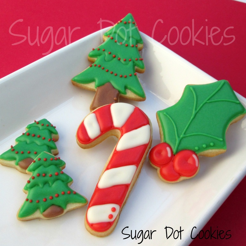 picture christmas trees - How To Decorate Christmas Sugar Cookies