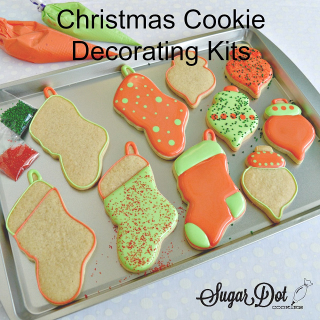 what a fun activity to do for christmas decorate cookies to bring to your family celebration or bring a few kits as a fun activity